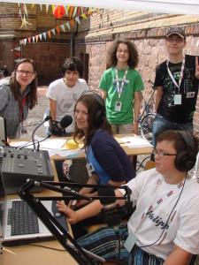 Das Team des Staatsradios